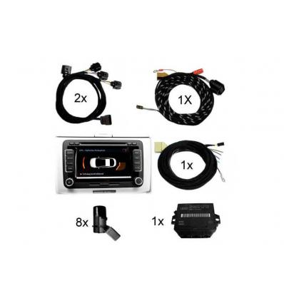 Park pilot anteriore & posteriore incl. OPS - Retrofit Kit - VW Golf 6