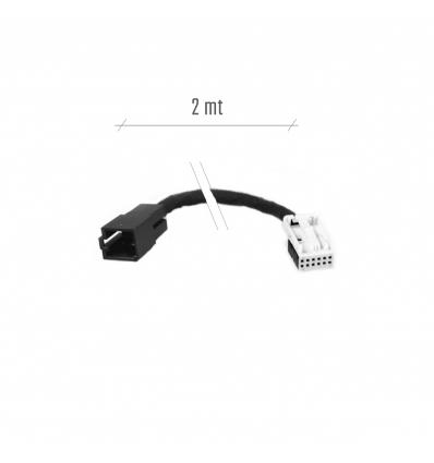 Adapter - VW/ Audi - Mini ISO a Quadlock CD-Changer - 2 mt