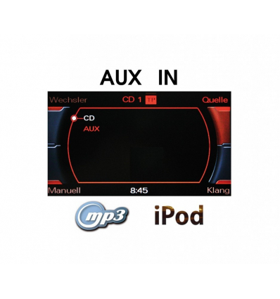 AUX-IN Radio Concert, Symphony retrofit - Audi