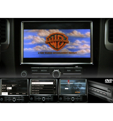 DVD Changer - Retrofit kit - VW Touareg 7P