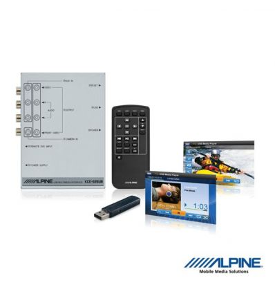 Alpine KCE-635UB Interfaccia USB Audio Video