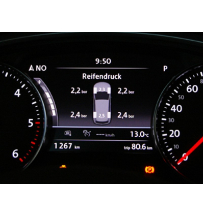 Tire Pressure Monitoring System (TPMS) - Retrofit kit - VW Touareg 7P