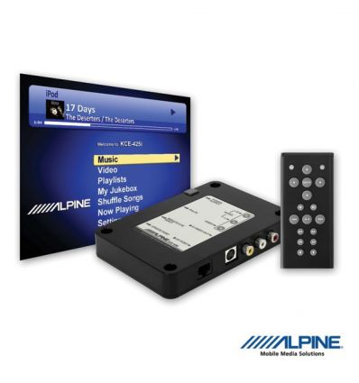 Alpine KCE-425I - Video Interface iPod