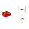 Kit di riparazione connettore 20 pin scatola contatti MINI ISO