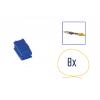 Kit di riparazione connettore 8 pin blu per scatola contatti MINI ISO