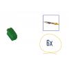 Kit di riparazione connettore 6 pin verde per scatola contatti MINI ISO