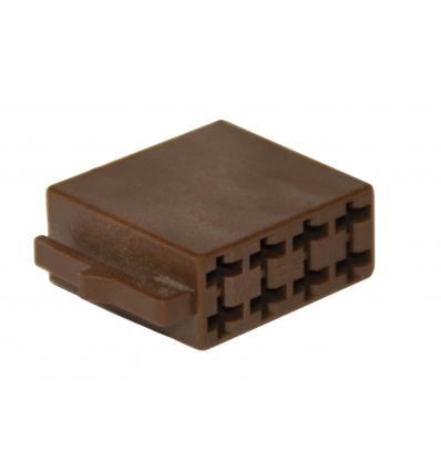 Kit di riparazione connettore 8 pin marrone per scatola contatti ISO