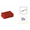 Kit di riparazione connettore 8 pin rosso per scatola contatti MINI ISO