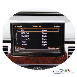 DAB / DAB+ Digital Radio - Retrofit - Audi A8 4H con MMI 3G+