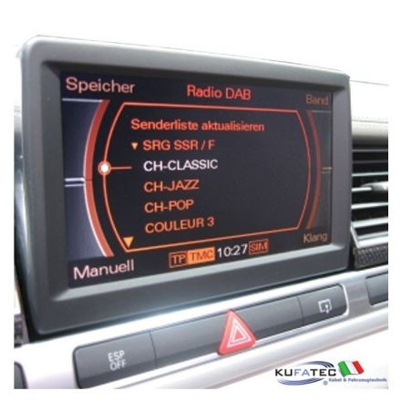 DAB / DAB+ Digital Radio - Retrofit - Audi A8 4E
