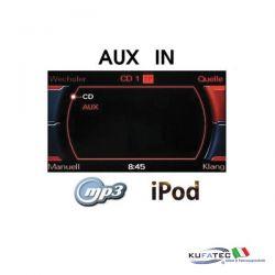 AUX IN - Jack - Retrofit - MMI 2G High - Audi A4 8K A5 8T