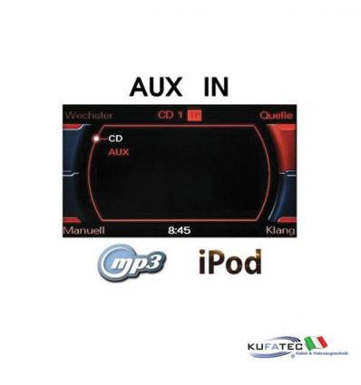 AUX IN - Jack - Retrofit - MMI 2G High - Audi A4 8K A5 8T