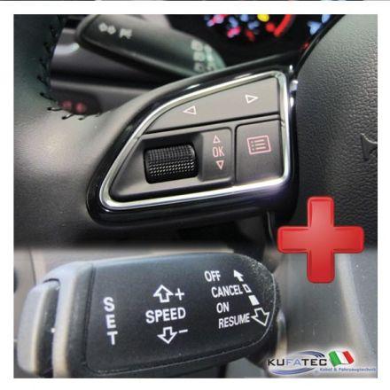 """Pack """"Cruise control + Comandi al volante"""" - Retrofit - Audi A1 8X Q3 8U"""