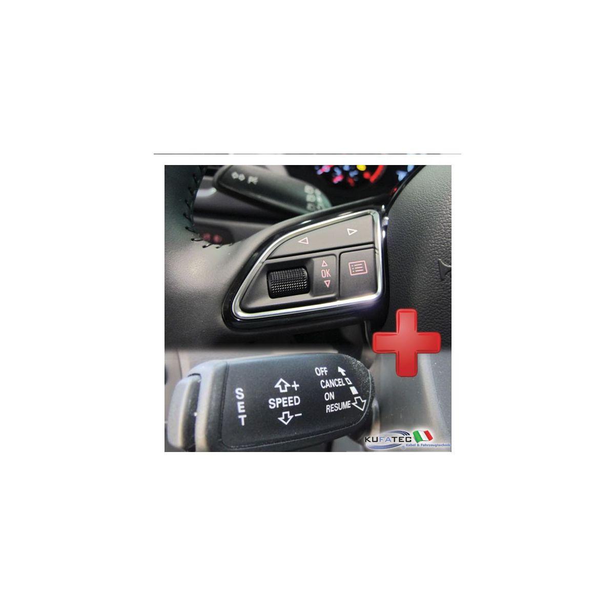 Pack Quot Cruise Control Comandi Al Volante Quot Retrofit Audi A1 8x Q3 8u Navistore