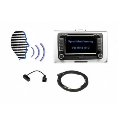 Voice control - Retrofit kit - VW RNS 510