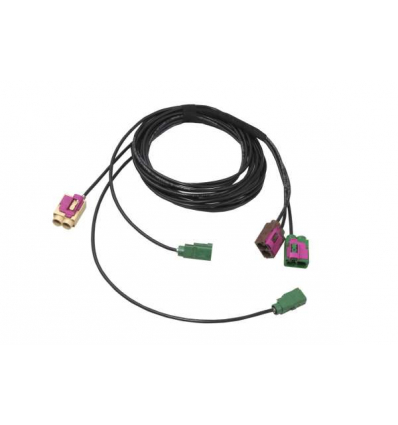 36366 - Set cavi moduli antenna TV - Audi A4 B8/8K con MMI 2G