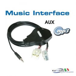 Music Interface - Jack - Quadlock - Audi/VW