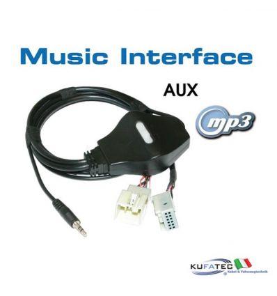 Music Interface - Jack - Quadlock - Audi/VW
