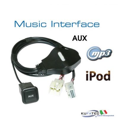 Music Interface - AUX - Quadlock - Audi/VW