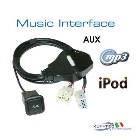 Music Interface - AUX - Quadlock - Audi/VW