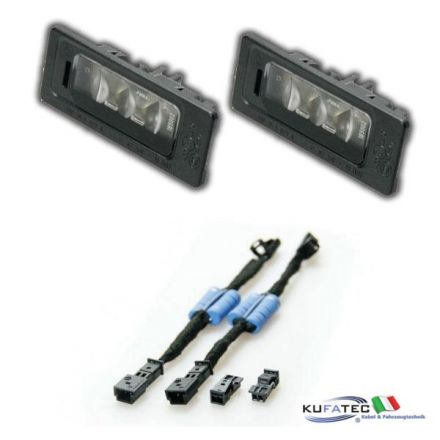 Bundle LED number plate illumination VW Passat B7 Variant
