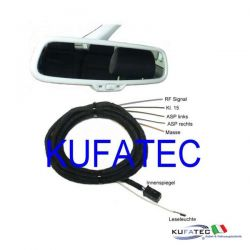 Rainsensing, light assist e Auto-Dimming Interior Mirror - Audi A4 8K A5 8T Q5 8R