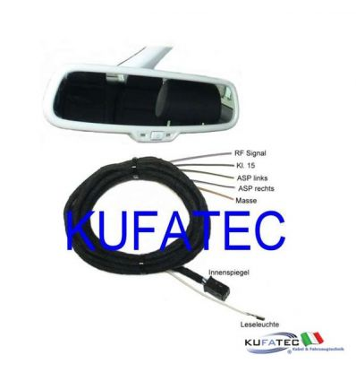 Rainsensing, light assist e Auto-Dimming Interior Mirror - Audi A4 8K A5 8T Q5 8R