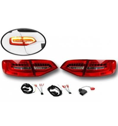 Fari LED posteriori Facelift - Retrofit kit - Audi A4 8K