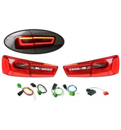 Fari LED posteriori - Retrofit kit - Audi A6 4G Avant