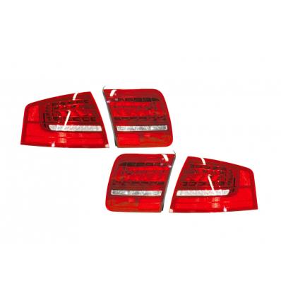 Fari LED posteriori Facelift - Retrofit kit - Audi A8 4E