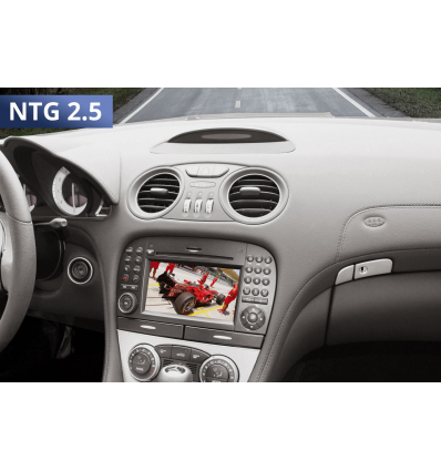 Video in Motion - Mercedes Comand APS NTG 2.5