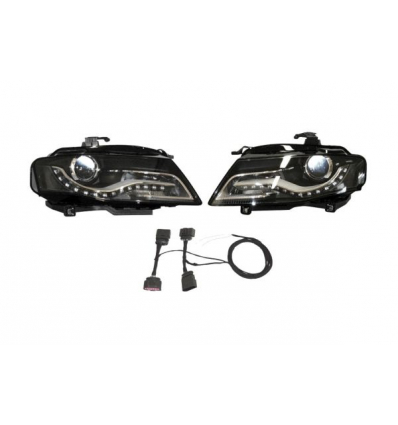 Fari Bi-Xenon con luce diurna LED - Retrofit kit - Audi A4 8K