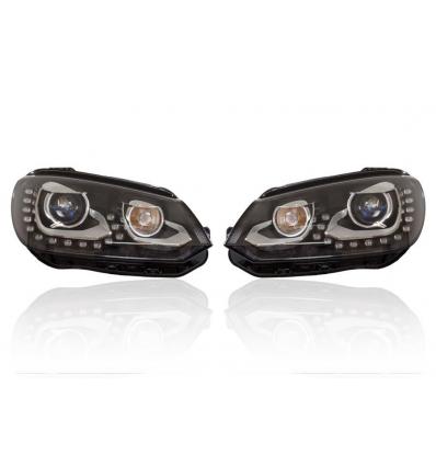 Fari Bi-Xenon con luce diurna LED - Retrofit kit - VW EOS 1F da my 2012 con DCC