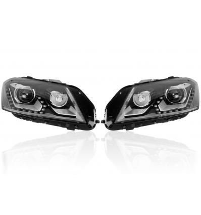 Fari Bi-Xenon con luce diurna LED - Retrofit kit - VW Passat B7