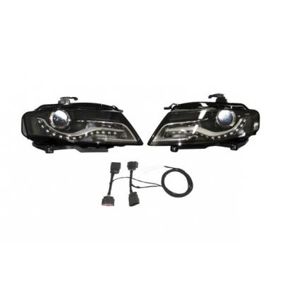 Fari Bi-Xenon con luce diurna LED - Retrofit kit - Audi A5 8T