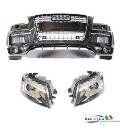 Bi-Xenon/LED Headlights + Complete Front my 2010 - Upgrade - Audi Q7 4L