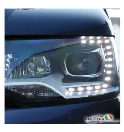 Bi-Xenon Headlights LED DTRL - Upgrade - VW T5 7E