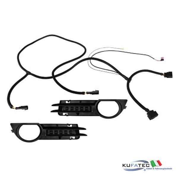 daytime running lights led - audi a3 8p  8pa