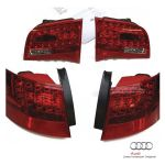 Kit postmontaggio fari LED posteriori Audi A6 4F Avant dal 2005 al 10/2008