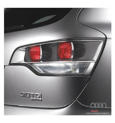 Luci posteriori ottica trasparente - Audi Q7 4L fino a my2009