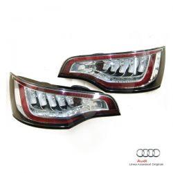 Luci posteriori ottica trasparente - Audi Q7 4L da my2010 in avanti