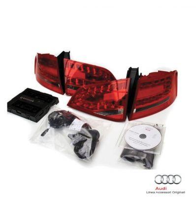 Kit postmontaggio fari LED posteriori - Audi A4 8K Avant