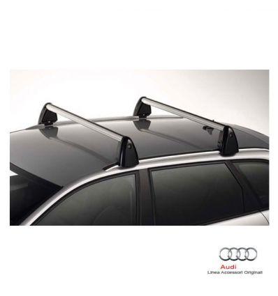 Barre portacarico - Audi A3 8P Sportback con mancorrenti
