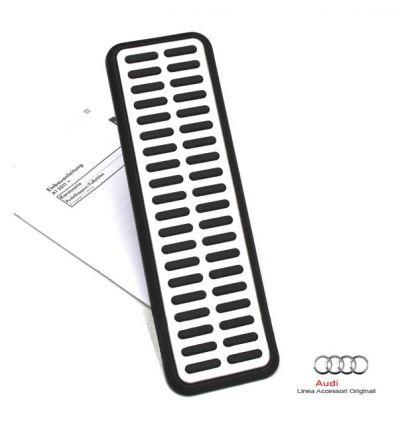 Copertura per poggiapiede in look alluminio - Audi A1 8X