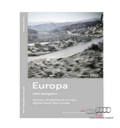 Cartografia DVD Europa 2013 - Audi MMI 3G Basic