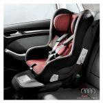 Seggiolino Audi child seat - Rosso Misano/nero (da 1 a 4 anni o da 9 a 18 kg circa)