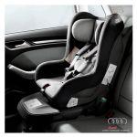 Seggiolino Audi child seat - Grigio Titanio/nero (da 1 a 4 anni o da 9 a 18 kg circa)