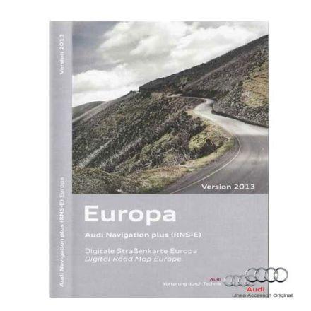Cartografia DVD Europa 2014 - Audi RNS-E