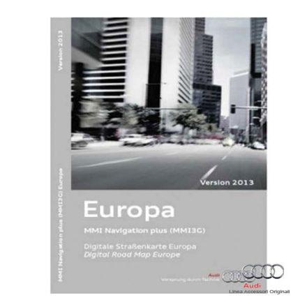 Licenza cartografia HDD Europa 2013 - Audi MMI 3G