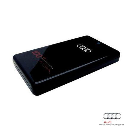 "250 GB External USB Hard Drive ""100 years of Audi"""